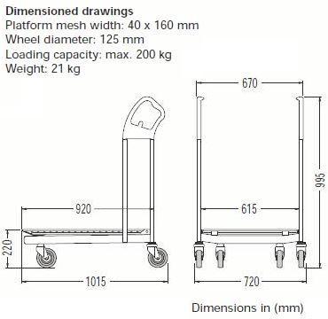furniture-trolley-dimension
