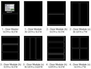 modulock 1-4 doors
