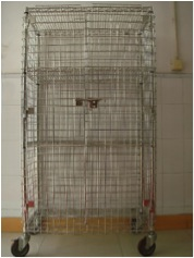 akcots stainless steel security cage