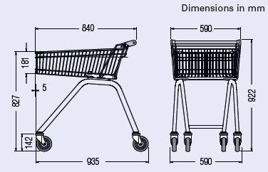 light-trolley-70-dimension