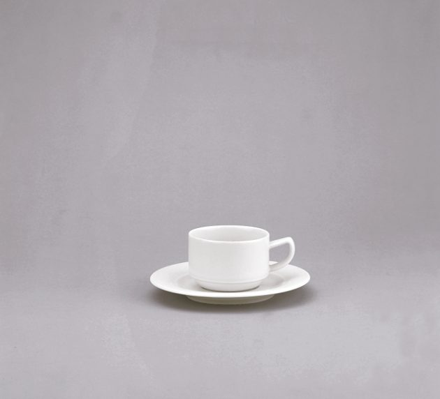 Avanti Cup and saucer stackable