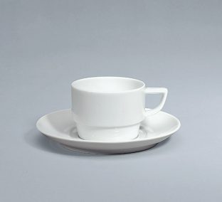 Event Cup and saucer stackable