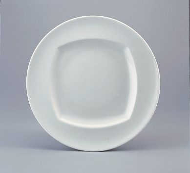 Event Plate flat with rim