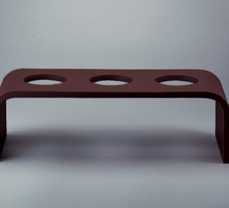 Event Wooden platform high dark brown