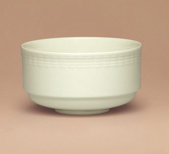 Generation Bowl stackable embossed