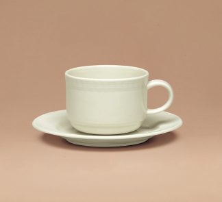 Generation Cup and saucer stackable