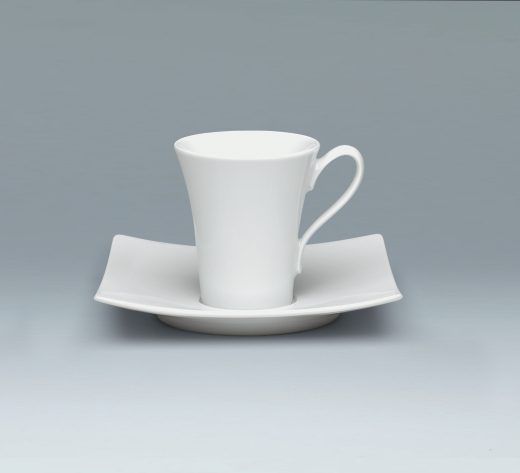 Tradition Cup and saucer elegant tall