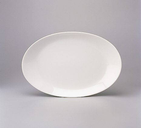 Platter oval coupe