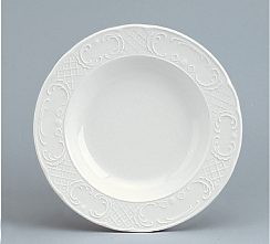 Marquis Plate deep with rim