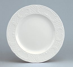 Marquis Plate flat with rim