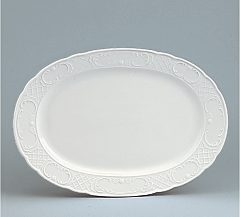 Marquis Platter with rim