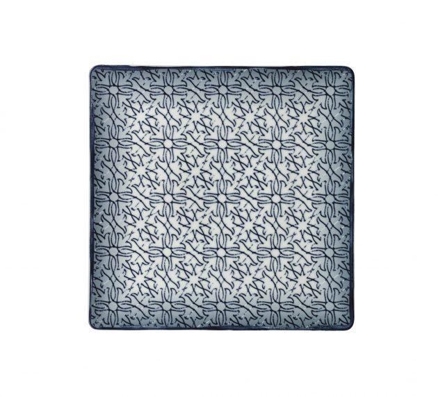 Plate semi deep coupe square